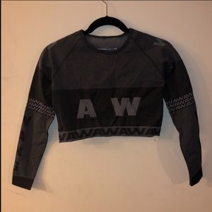 Alexander Wang x H&M Long Sleeve Crop Top